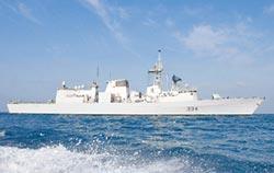 加拿大巡防艦通過台海 我:自由航行