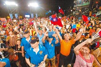 台灣政情 韓支持度 最有競爭力-2020各家爭鳴 最新民調韓仍獨大