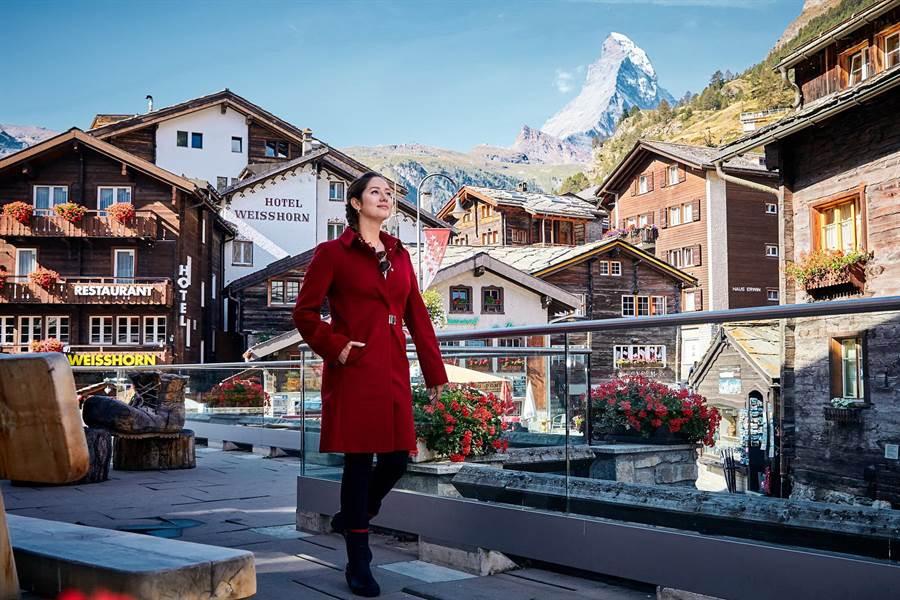瑞士旅遊局推廣觀光,請台美混血女孩Alana擔任「瑞士觀光大使」。(圖/瑞士旅遊局)