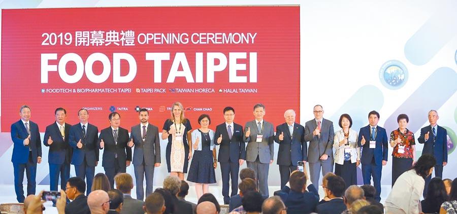 台北國際食品展19日台北登場,在南港2館加入下,今年規模超過5,000個攤位、高達38個國家館同創史上新高。圖/外貿協會提供