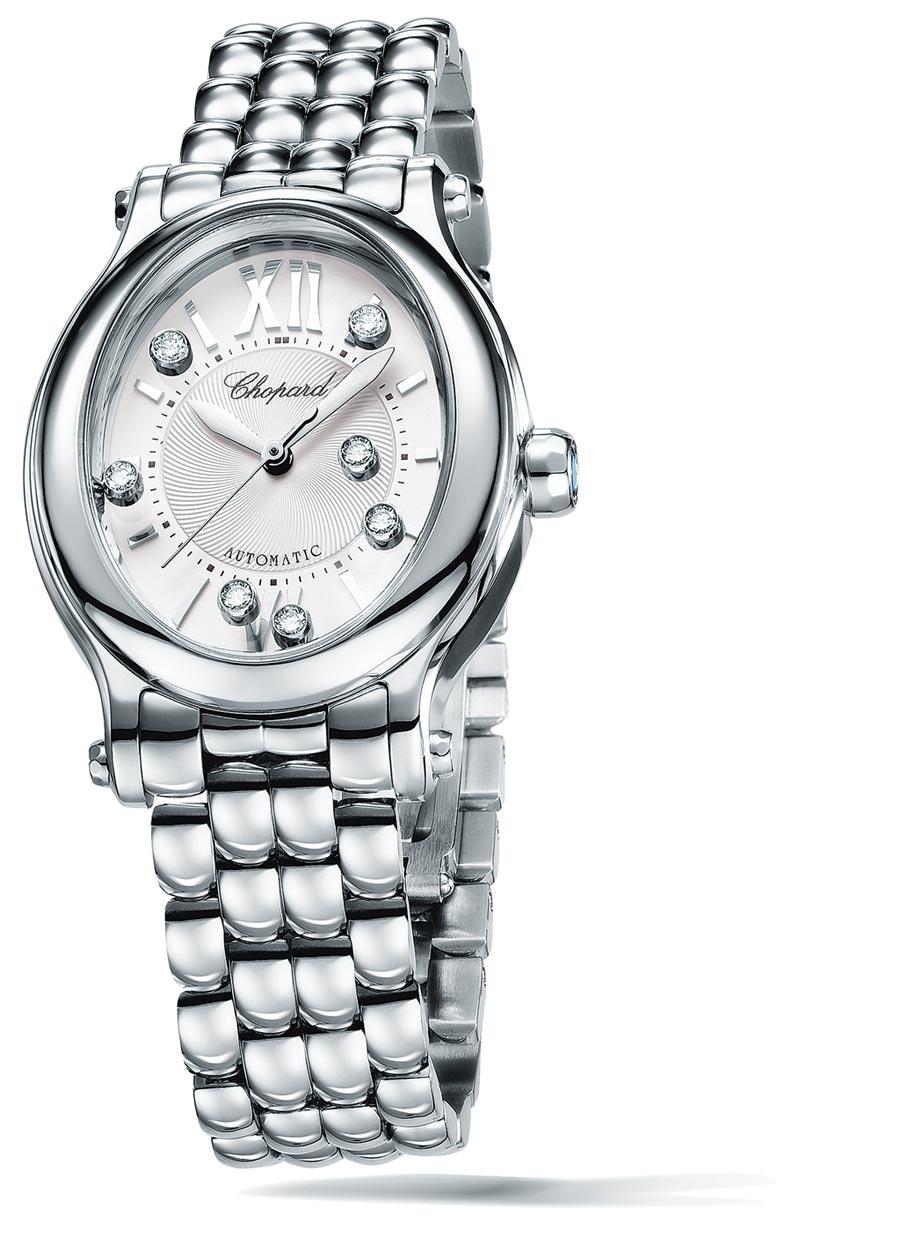 精鋼款式,配備拋光錶圈。