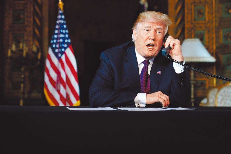 美國總統川普致電習近平,打破中美貿易談判僵局。(CFP)