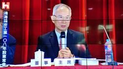《其他電子》股東質疑股價暴跌,呂芳銘:鴻海價值被低估