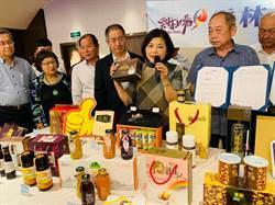 張麗善率團赴陸行銷  獲成都、漳州各1億訂單