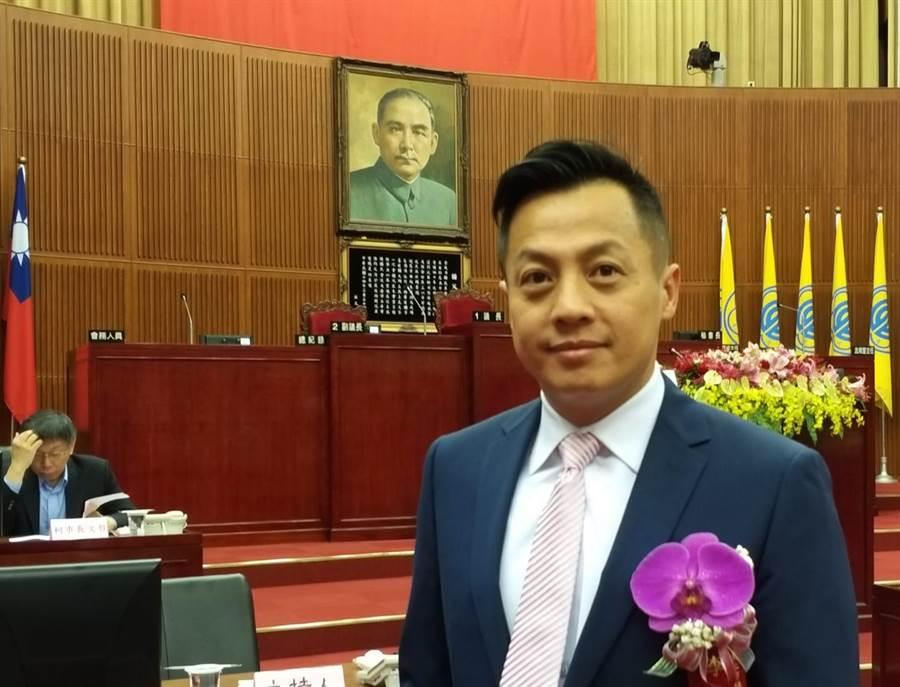 台北市議員李明賢。(圖/取自臉書「李明賢-阿賢之聲」)