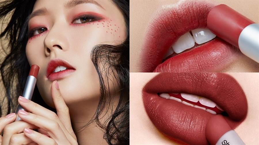 植村秀推出全新限量彩妝「專紅土」系列。(圖/品牌提供)