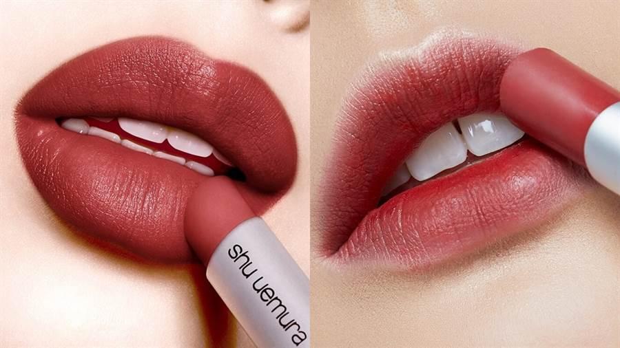 左:#RD171泰奶磚紅土,右:#RD177紅豆磚紅土。(圖/品牌提供)