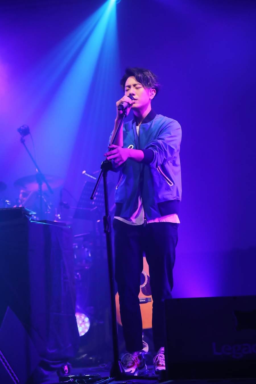 韋禮安今晚在台北Legacy開唱。(寬宏藝術提供)