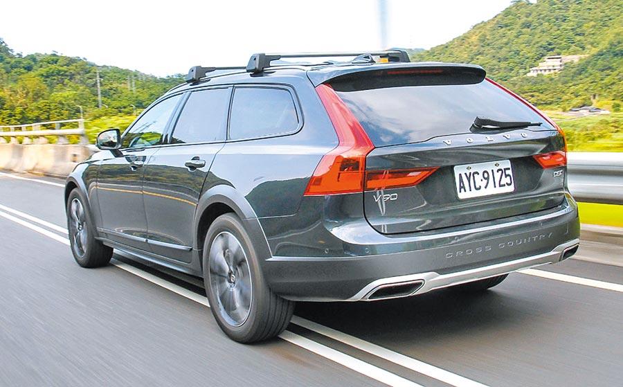 Volvo瞭解旅行車帶給廣大車迷的精神意涵,不僅是通勤的代步工具,更是一種獨特生活態度。圖/陳慶琪