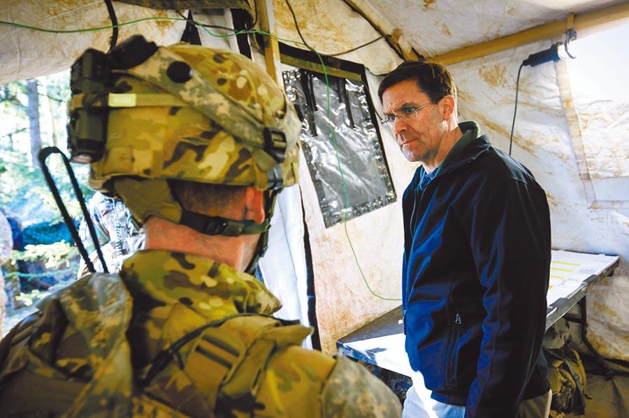 美國總統川普任命陸軍部長埃斯珀出任代理國防部長。(取自美國陸軍官網)
