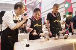 花蓮百人手沖咖啡 重量級達人現場教學