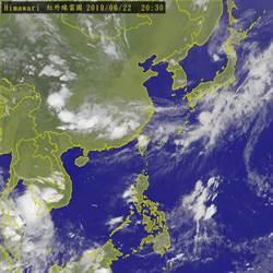 鋒面來了! 23日西半部嚴防局部大雨