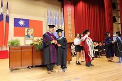 高師大畢業典禮 吳連賞送學生1個態度、5個錦囊