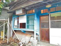 淡水日式宿舍群 閒置如廢墟