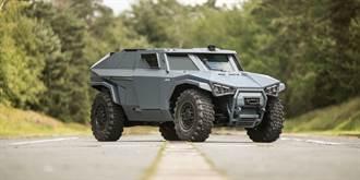 蝙蝠俠風格 Volvo推出可橫行油電戰鬥車