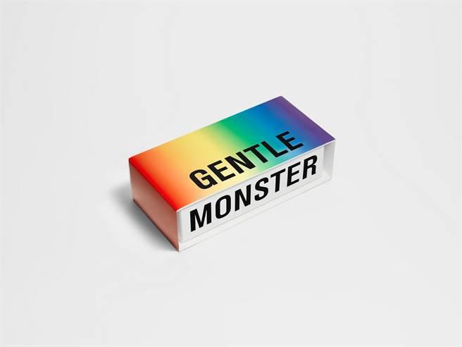 微風南山GENTLE MONSTER彩虹節限定包裝盒限量200份。(微風提供)
