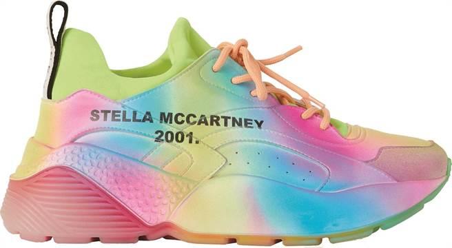 微風信義STELLA McCARTNEY Eclypse彩色運動鞋,2萬1700元。(微風提供)