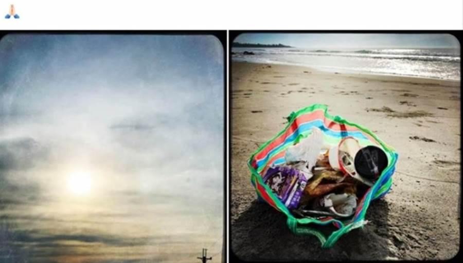 鈕承澤趁著生日到都蘭海邊散心。(圖/鈕承澤臉書)