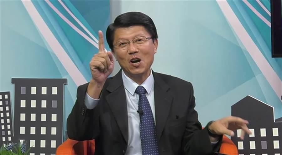 臺南市議員謝龍介。(圖/中時電子報)