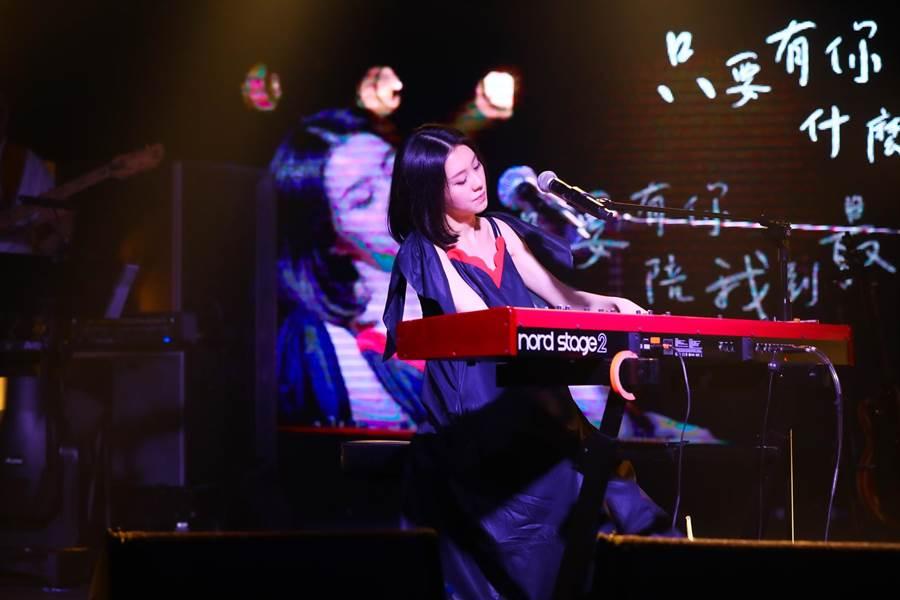 白安今晚舉辦專場演唱會。(相信音樂提供)