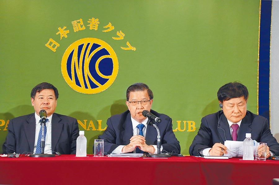 大陸經濟學家代表團4月赴東京,就中日經貿合作等問題與日本媒體展開交流。(中新社)