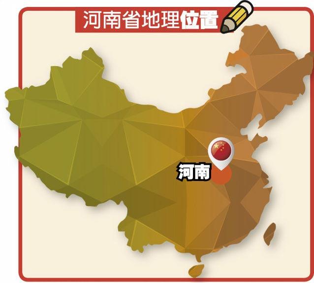 河南省地理位置