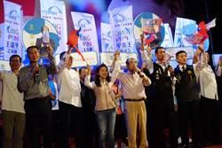 王金平出席雲林造勢大會 抨擊民進黨十大惡政