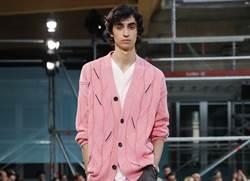 巴黎男裝周/HERMES衣櫃打破寧靜 幾何、粉色「鬆」一下