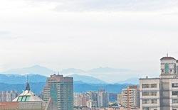 中市空汙漸改善 市區可遠眺玉山