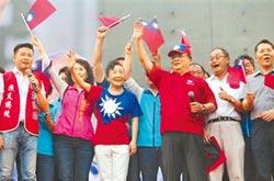 胡志強夫婦 堅定挺庶民總統