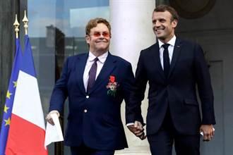 艾爾頓強獲頒「法國榮譽軍團勳章」