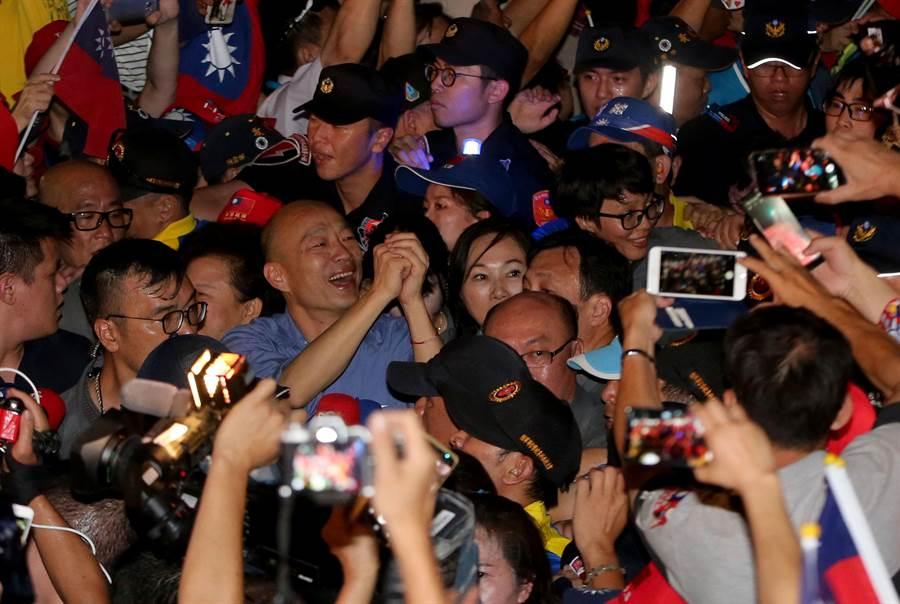 高雄市長韓國瑜。(資料照,黃國峰攝)