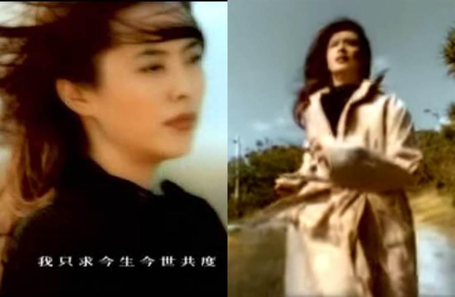 王祖賢23年前美貌驚豔。