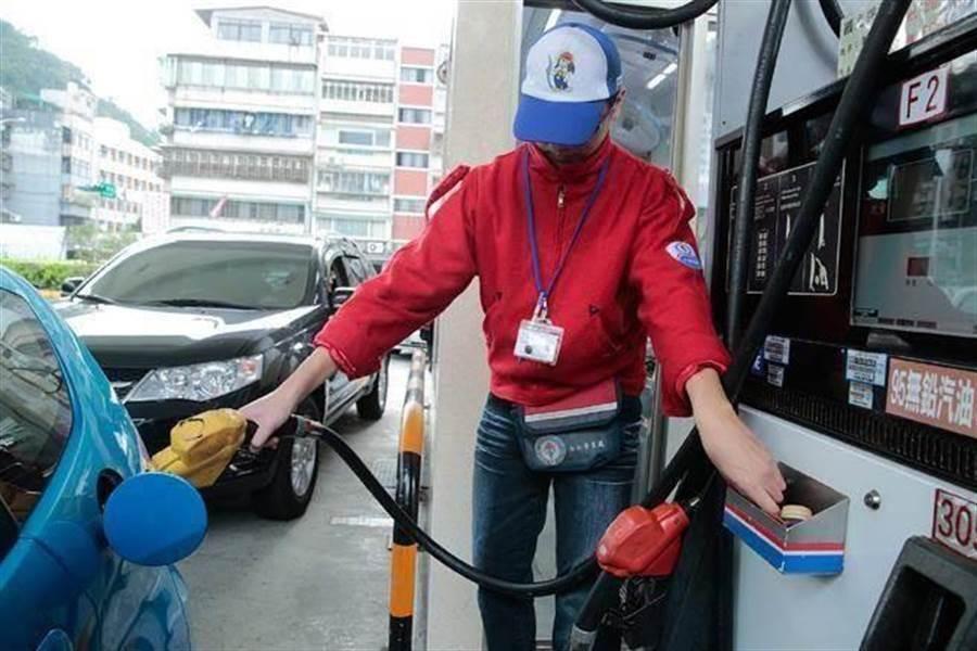 圖為加油站。(資料照)