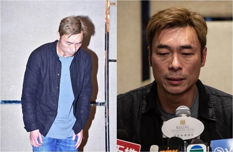 許志安4月為不倫戀落淚道歉。(圖/達志影像)