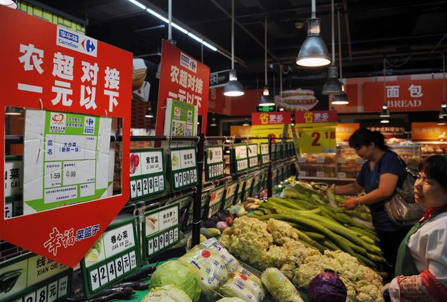 蘇寧48億人幣收購家樂福中國80%持股。(圖/中新社)