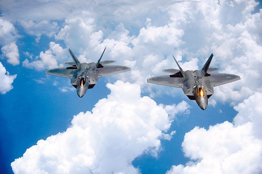 美軍研發的新飛彈將裝備在F-22戰機。(取自美國空軍官網)