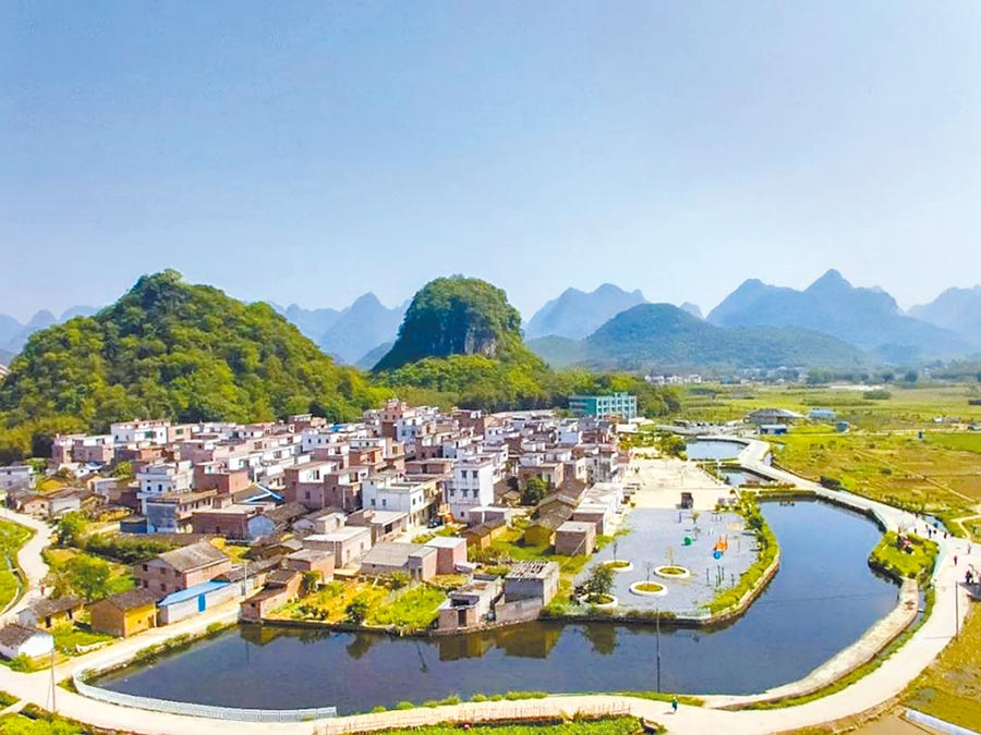 水西村有山有水,村官劉逢明把鄉村旅遊搞得紅紅火火。(取自清遠發布)