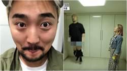 男星褲子滑落女搭檔被嚇往外衝!網笑:求無碼高清版