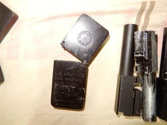 三重警破槍枝改造工廠 驚見名片手槍、白板筆炸彈