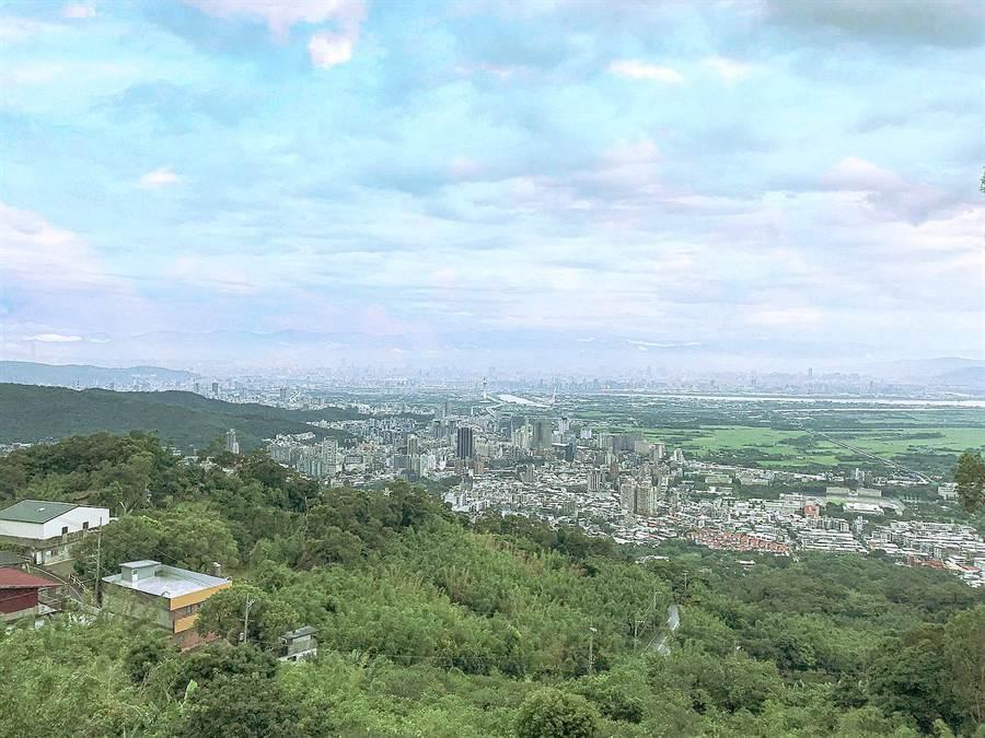 北部打卡景點─台北打卡夜景/四季長廊觀景台