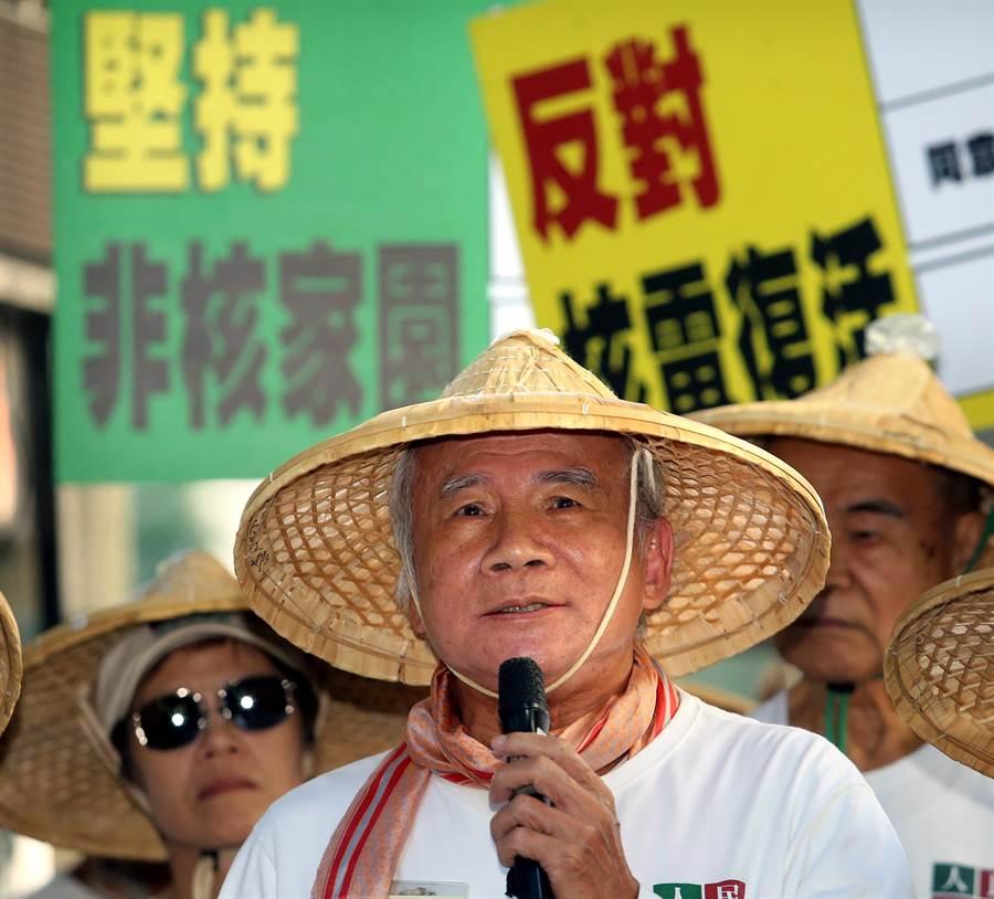 民進黨前主席林義雄。(中時資料照)