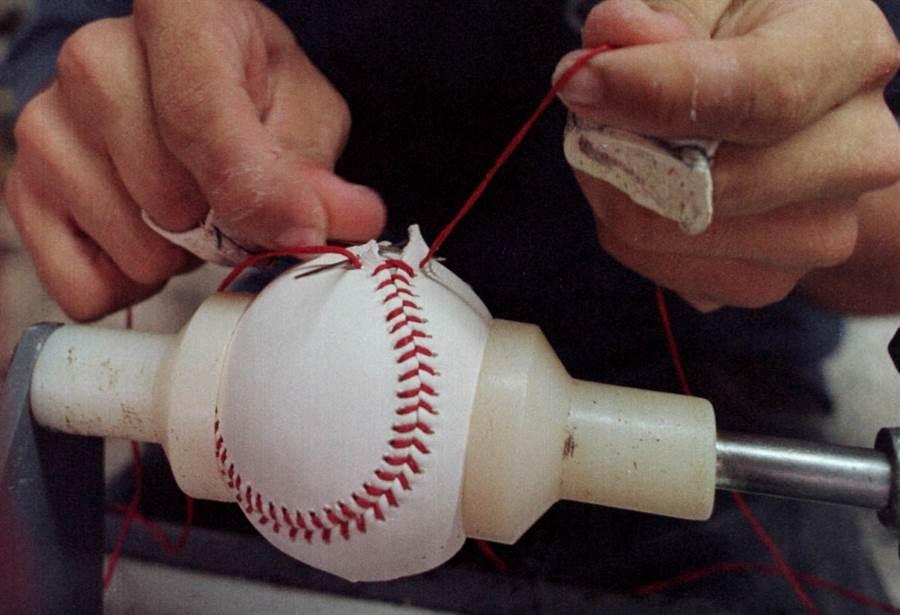大聯盟的用球由Rawlings製作。(美聯社資料照)