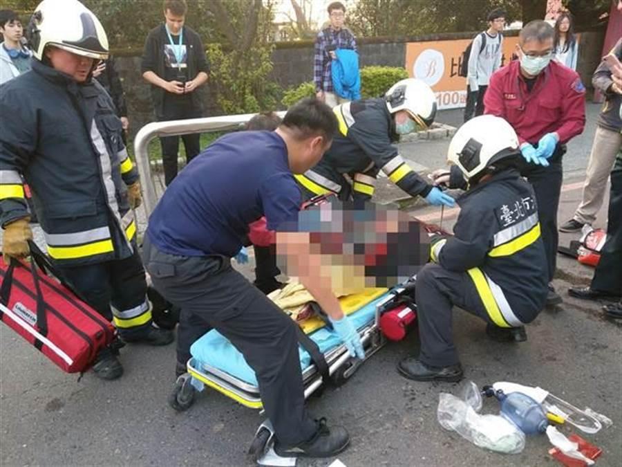 文化大學女大生張恒綿今年2月中,在學校旁的路口遭公車撞擊死亡,士林地檢署偵結,依過失致死罪嫌對呂姓司機提起公訴。(報系資料照)