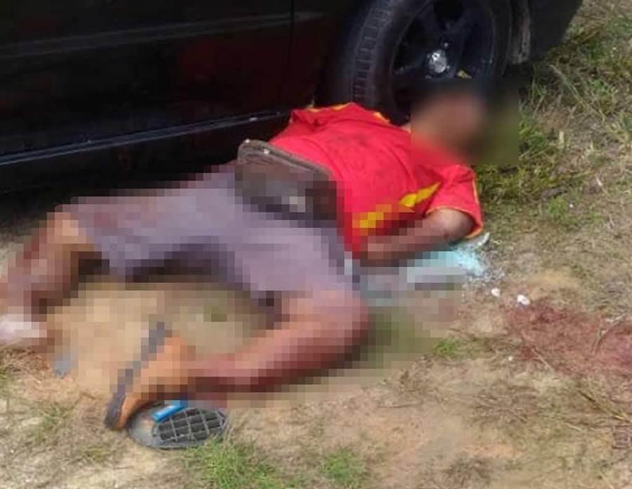 馬來西亞一名男子與有夫之婦一同外出,遭人妻丈夫當街活活打死。(照片來源:中國報)