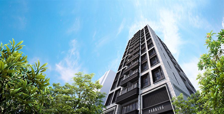 規劃低公設比29.9%,室內挑高3米4,房型格局方正漂亮,戶戶邊間且多面採光。