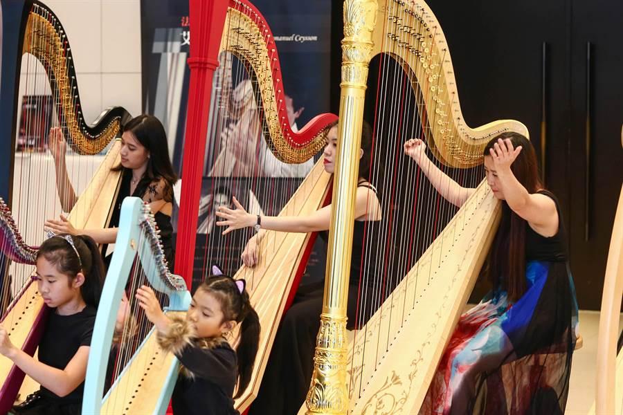 第二届台湾国际竖琴节本周末开跑,将有多位竖琴名家,带领小朋友们上台演出《动物狂欢节》。