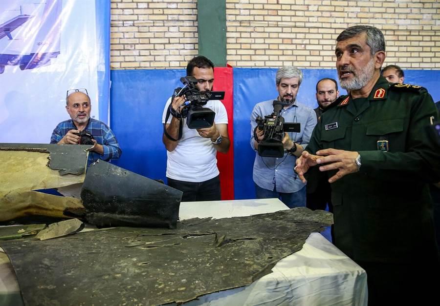 伊朗擊落美國RQ-4CRQ-4C遠程無人機,美國第一個反擊手段是網路駭客戰。(圖/軍事時報)