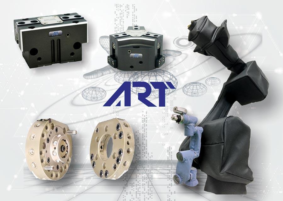 錡鋒技研公司的「機器人防護衣」,具有防水、防塵、耐腐蝕、耐高溫等功效,可搭配用於市面上各式品牌的機器人。圖/錡鋒技研公司提供