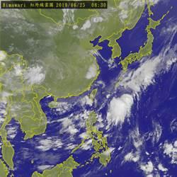 熱帶擾動恐成颱  彭啟明分析侵台機率